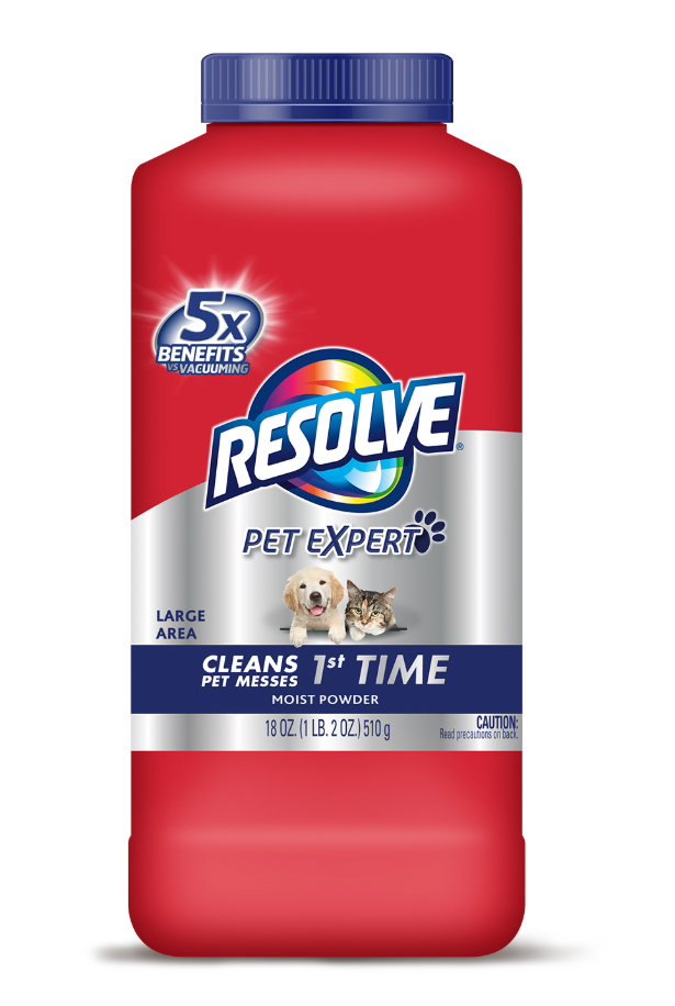 RESOLVE® Pet Expert Large Area Moist Powder